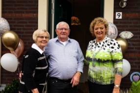 60 jaar echtpaar Peters-Peters