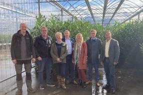 College op bezoek bij SV Tuinplanten