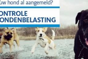 Controle hondenbelasting van start