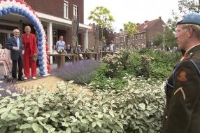 Eerbetoon voor 100-jarige veteraan Gabriel Ansems in Tilburg