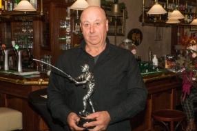 Karel Weber 'koning van de vissers'