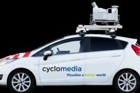 Opnames omgeving door Cyclomedia