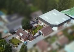 Foto's van Te koop: Bedrijfsgebouwen met woning