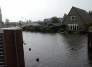 Noodweer in Boxmeer